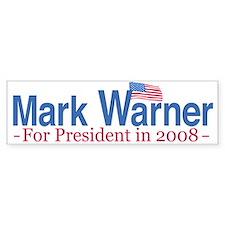 Hillary 2008 Flag Bumper Bumper Sticker