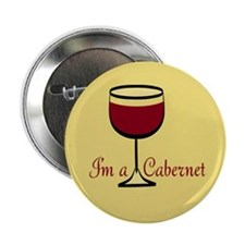 "Cabernet Drinker 2.25"" Button"