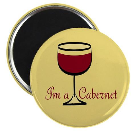 """Cabernet Drinker 2.25"""" Magnet (100 pack)"""