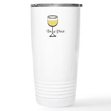 Pinot Wine Drinker Travel Mug