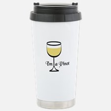 Pinot Wine Drinker Travel Mug