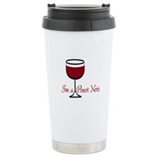 Pinot Noir Drinker Travel Coffee Mug