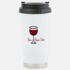 Pinot Noir Drinker Travel Mug