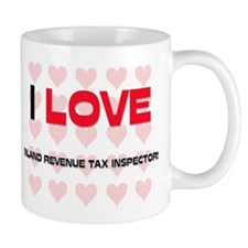 I LOVE INLAND REVENUE TAX INSPECTORS Mug