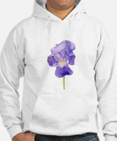 Purple Iris Jumper Hoody