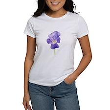 Purple Iris Tee