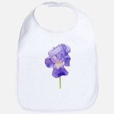 Purple Iris Bib
