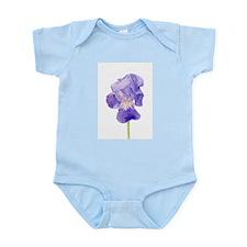 Purple Iris Infant Bodysuit