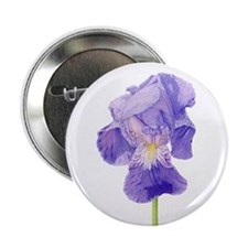 "Purple Iris 2.25"" Button (10 pack)"