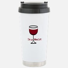 Merlot Wine Drinker Travel Mug