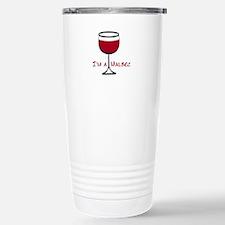 Malbec Drinker Stainless Steel Travel Mug