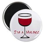 Malbec Drinker Magnet