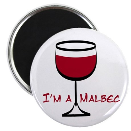 "Malbec Drinker 2.25"" Magnet (100 pack)"