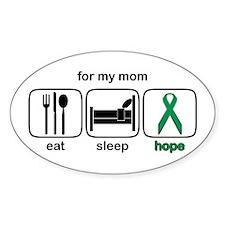 Mom ESHope Kidney Oval Decal