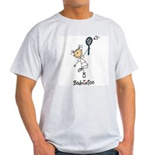 Girl's Badminton T-Shirt