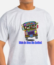 Hippie School Bus T-Shirt