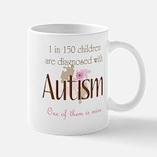 1 in 150 diagnosed autism Mug