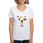 S&O Not Yet Nested Women's V-Neck T-Shirt