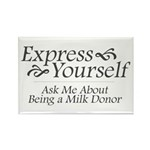 Breast Milk Bank Advocacy Rectangle Magnet