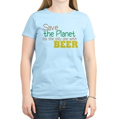 Only Planet with Beer T-Shirt