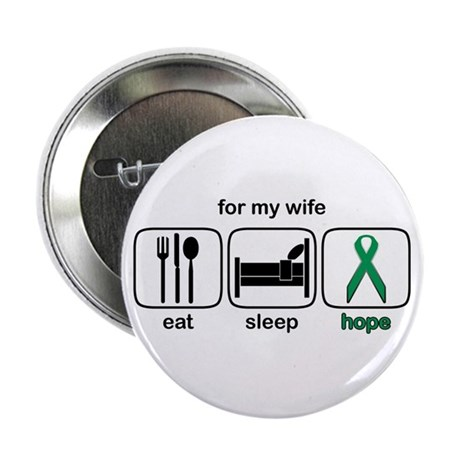 """Wife ESHope Kidney 2.25"""" Button"""
