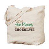Food chocolate Canvas Totes