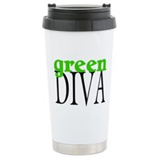 Green Diva Travel Mug