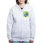Usenet Junkie #3 Women's Zip Hoodie