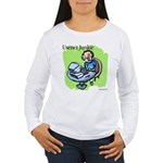 Usenet Junkie #3 Women's Long Sleeve T-Shirt