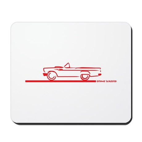 57 T Bird Top Down Mousepad