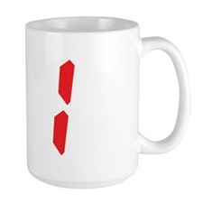 91 ninty-one red alarm clock Mug