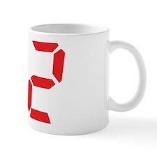 92 ninty-two red alarm clock Mug