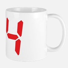 94 ninty-four red alarm clock Mug