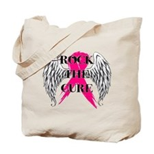 Rock The Cure Tote Bag