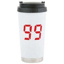 99 ninty-nine red alarm clock Travel Mug