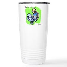 Twitter Junkie 3 Travel Mug
