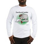 Facebook Junkie 1 Long Sleeve T-Shirt