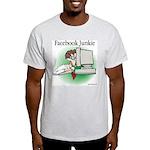 Facebook Junkie 1 Light T-Shirt