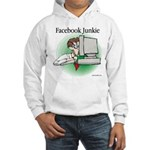 Facebook Junkie 1 Hooded Sweatshirt