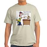 Facebook Junkie 2 Light T-Shirt