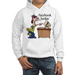 Facebook Junkie 2 Hooded Sweatshirt