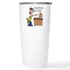 Facebook Junkie 2 Travel Mug