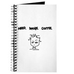 Need. More. Coffee. Journal