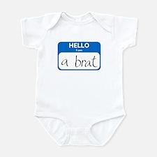 Brat Infant Bodysuit