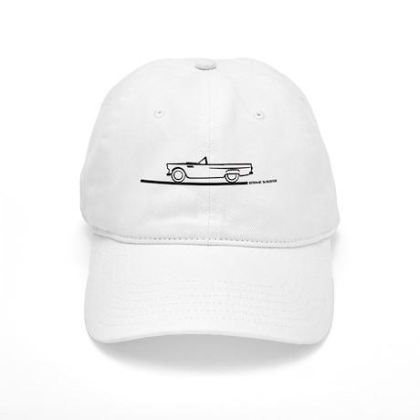 1955 T Bird Convertible BLK Cap