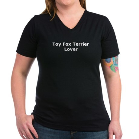 Toy-Fox-Terrier-Lover_dark T-Shirt