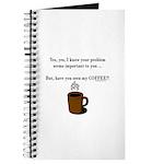 Seen my coffee? Journal