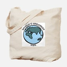 Greatest Wife Tote Bag