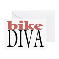 Bike Diva Greeting Cards (Pk of 10)
