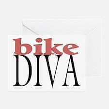 Bike Diva Greeting Cards (Pk of 10)